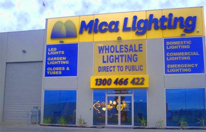 MICA Lighting - Melbourne Showroom